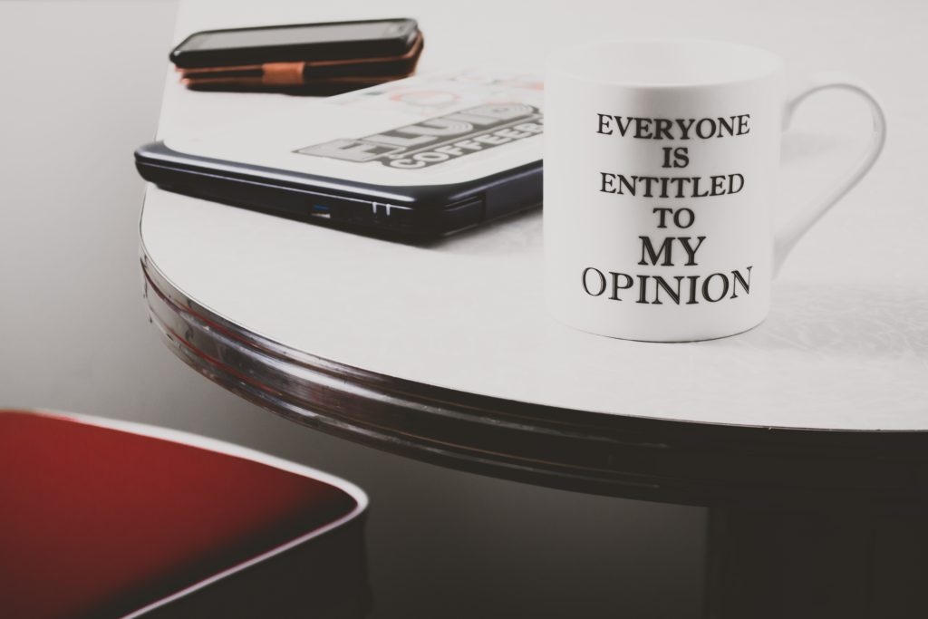 360 assessment-everyone is entitled to my opinion